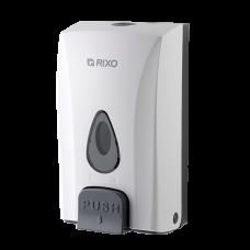 Дозатор жидкого мыла универсальный. Rixo Maggio S188W